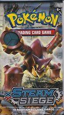 ~Pokemon XY Steam Siege Booster Pack M Mega Volcanion Steelix Gardevoir EX@@