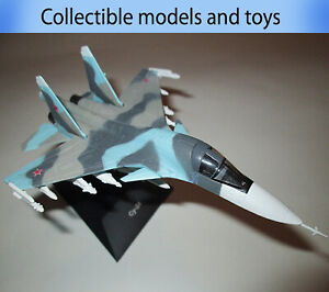 Sukhoi Su-34  model airplane, Deagostini (cast) legendary aircraft of the USSR