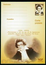 2003 Dr. Ana Aslan/armenian,the very First Geriatrics Institute,Romania,card
