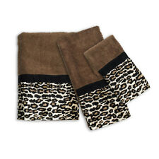 Popular Bath Gazelle Animal Print Bathroom 3 Piece Towel Set