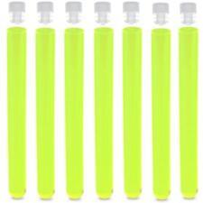 16x150mm PS Test Tubes, Round Bottom, Neon Green Karter Scientific (100 pack)