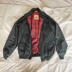 Vintage Baracuta G9 Harrington Jacket Size 38 Dark Navy