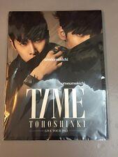TVXQ Tohoshinki Japan 2013 TIME live tour program brochure photobook