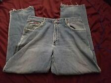 Tommy Hilfiger Tommy Jeans Mens 38x32 Light Blue Denim (Destress Jeans)