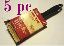"5 brushes of 3""  Professional Paint Brush Synthetic All Purpose"