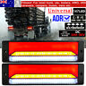 2x 147LED Trailer Tail Light Stop Tail Indicator ADR Approved Submersible 10-30V