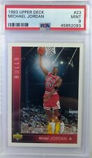 1993-94 UPPER DECK Michael Jordan #23, Chicago Bulls, HOF, Graded PSA 9 Mint