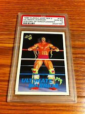 1990 Classic WWF Series 2 Ultimate Warrior Wrestling Card PSA 10 WWE WCCW
