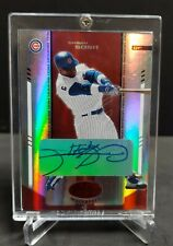 2004 Leaf Certified Materials Red Sammy Sosa Auto Autograph 10/50 Cubs
