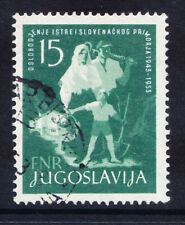 More details for yugoslavia 1953 sg759 15d ann of liberation of istre & stovene fine used cat £75