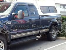 "1999-2010 Ford Super Duty/F-250 Extended Cab Short Bed Rocker Panel Trim 6"" 12Pc"