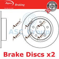 Genuine OE Quality Apec Rear Solid Brake Discs DSK3271