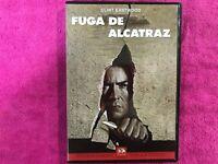 LA FUGA DE ALCATRAZ DVD CLINT EASTWOOD SCAPE FROM ALCATRAZ
