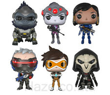 """Overwatch Solider Widowmaker Tracer Pharah Figure Collection Toys with Box4.5"""""""