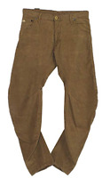 G-Star Raw Herren Hose ARC 3D Loose Tapered Brown Mens Size UK W30 L32 *REF30-03