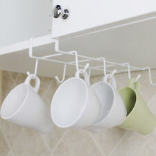 Kitchen Under Shelf Coffee Cup Mug Holder Hanger Storage Rack Cabinet Hook USA
