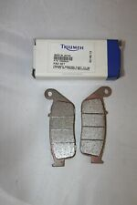 Plaquettes Frein moto ORIGINE TRIUMPH (NISSIN) Thruxton avant - T2020537