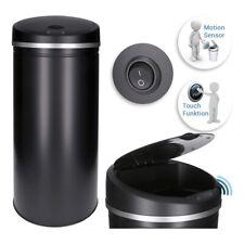 50L Automatik Sensor Mülleimer (schwarz), automatisches öffnen/schließen