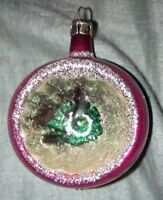 Vintage Christmas Tree Ornament - Glass