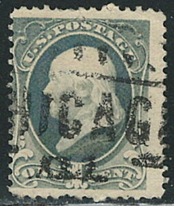 US year of 1881 old single stamps Scott#206 (used),