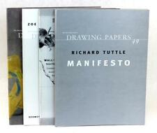 The Drawing Center's Drawing Papers Numbers 49 53 54 62 Richard Tuttle Manifesto