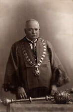Daventry photo. ? Mayor by A.H. Vogt, Photographer, Daventry. Great Grandad Cook