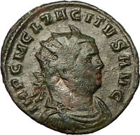 TACITUS 275AD  Authentic Ancient Roman Coin Providentia Prosperity Symbol i18209