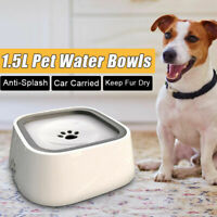 Portable Pet Dog Cat Water Bowl Feeder Drinking Fountain Floating Dish Dispenser