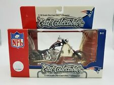NFL NEW ENGLAND PATRIOTS ERTL DIECAST ORANGE COUNTY CHOPPER 1:18 SCALE
