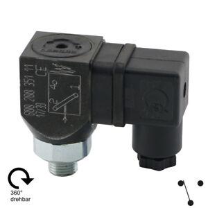 Pressure Switch Vacuum Switch 360° Swivel Hydraulic Oil Air Water Ölemulsion