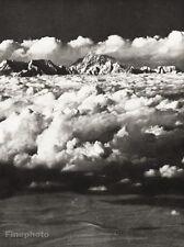 1934 Vintage ASIA ~ Mount Everest Himalayas Mountain Landscape Photo Art 11x14