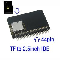 Micro SD To 2.5 44pin IDE Adapter Reader TF CARD To IDE For Laptop