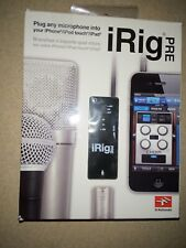 IK Multimedia*iRig PRE* XLR Mic Interface iPhone/iPod touch/iPad and Androids