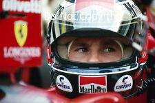 Gerhard Berger Ferrari F1/87-88C French Grand Prix 1988 Photograph 1