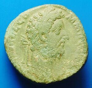SCARCE COMMODUS AE SESTERTIUS (210W)