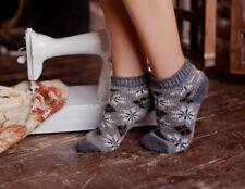 100% Wolle Socken Gr. 38-40 M Kurzsocken Sneaker Wollsocken Neu