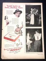 Life Magazine Ad REGENT Cigarettes 1944 Ad