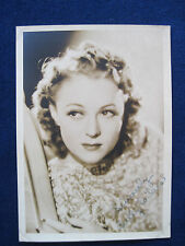 Original Vintage Photograph of Early Film Actress SALLY EILERS - SIGNED by Her