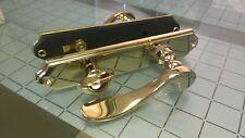 Brass Door Lever Set