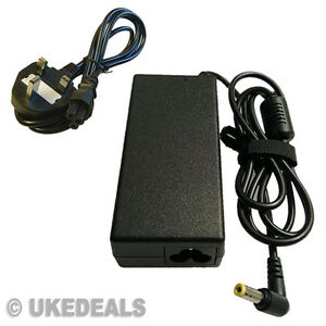 BRAND NEW GATEWAY PA-1650-02 LAPTOP AC ADAPTER CHARGER + LEAD POWER CORD