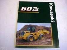 Kawasaki 60 Ziv Wheel Loader Literature