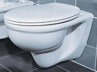 WALL HUNG TOILET+SOFT CLOSE SEAT+CONCEALED CISTERN view £19 DELIVERYareas