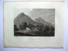 View of the village of Lowswater (published Sept 15th, 1815)