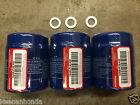 Genuine OEM Honda Oil Filter 3 Pack  w/ Washers