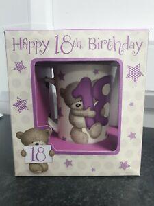 Hugs 18th Birthday Mug-Bear design-New in box