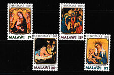 MALAWI 1985 SET,  CHRISTMAS PAINTINGS.   M.N.H.