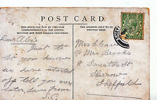 Genealogy Postcard - Family History - Cleaver - Sharrow - Sheffield  2090