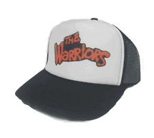 283b6013352 The Warriors Movie hat Trucker Hat mesh back New black