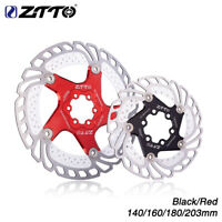 ZTTO Bicycle Brake Disc Floating Rotor MTB Gravel Road Bike 203/180/160/140mm
