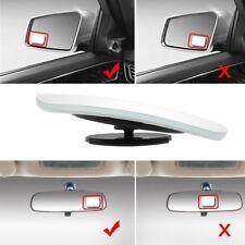 2Pack 360 Blind Spot Rear View Mirrors Frameless HD Glass Convex Wide